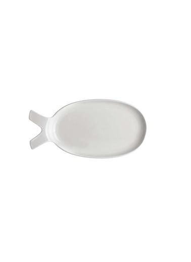 Ultraform Balık Servis Tabak Orta Renkli